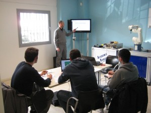 Training klain robotics
