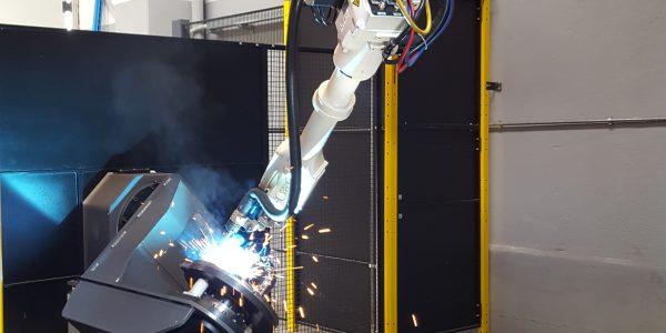 Robot di saldatura Hyundai