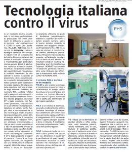 Tecnologia italiana contro il COVID-19