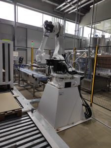 Robot Hyundai pallettizzazione