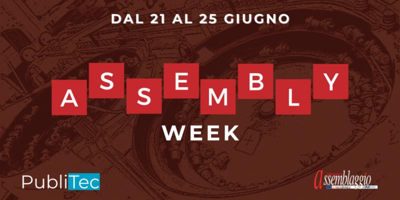 Assembly Week Publitec